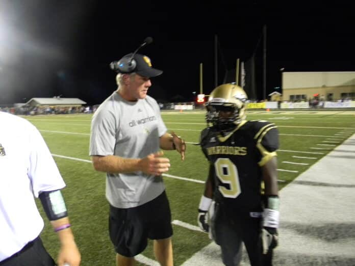 Brett Favre Coach Oak Grove Warriers